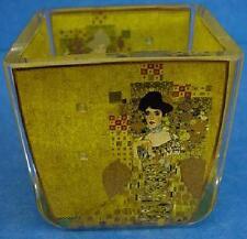 Goebel HANDMADE ART GLASS TEALIGHT-ADELE BLOCH BAUER da Gustav Klimt - 4427