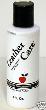 Apple Brand Leather Care Conditioner  4 oz. Bottle
