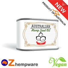 HEMP SEED OIL ORGANIC COLD PRESSED PRODUCT OF AUSTRALIA FREE & FAST DELIVERY