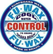 LOT OF 10 UNITS OF FU WAX COOL – SURF WAX, SURFBOARD WAX, SURFING WAX