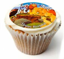 Lion King Birthday Cupcake Toppers; x20 Rice Paper or Icing, Personalised. 52