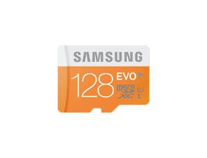 Samsung EVO Plus Class 10 Micro SDXC with Adapter, 128GB (MB-MP128D/CN)