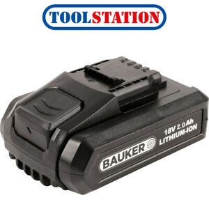Bauker 18V Battery 2.0Ah