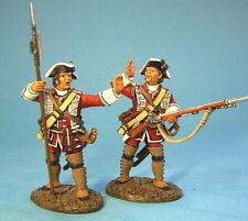 JOHN JENKINS QB09 BATTLE ABRAHAM BRITISH 47th REG SEGEANT & CORPORAL 2 FIGS MIB