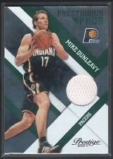 MIKE DUNLEAVY 2010/11 PRESTIGE PRESTIGIOUS PROS PACERS GAME JERSEY SP #/499 $15