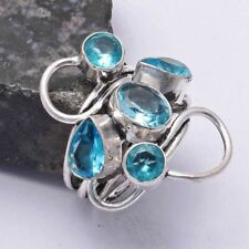 Jewelry Us Size-7.25 Ar 37616 Blue Topaz Ethnic Handmade Ring