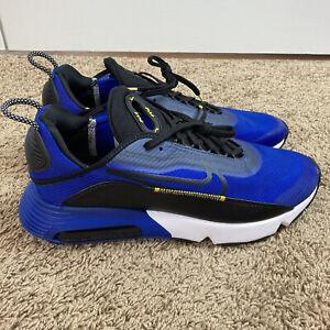 Nike Air Max 2090 Running Shoes Mens Size 11 Hyper Blue Black CV8835-400 New