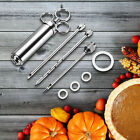 Meat Turkey Injector,Stainless Steel Marinade injector Syringe 304 Stainless
