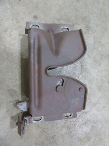 1959 Ford Galaxie Fairlane front hood latch catch release bracket mount piece