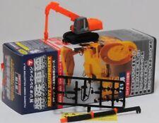 N Scale Fujimoto Hitachi Zaxis S160L Tracked Crane (Orange)