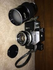 Nikon F Nippon Kogaku 890XXX SLR FTn Photomic Nikkor-S 50mm Lens 200mm Kaligar