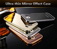 Luxury Aluminum Ultra-thin Mirror Metal Case for Samsung S6/Edge/+Plus & S7/Edge
