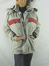 Burton Gray Ski Snow Snowboard Shell Jacket Coat Hooded Small  Unisex NYZ8