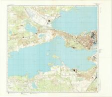 Russian Soviet Military Topographic Maps - TAMPERE (Finland) 1:10K, ed.1971