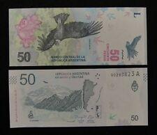 ARGENTINA BANKNOTE 50 PESOS 2018 UNC