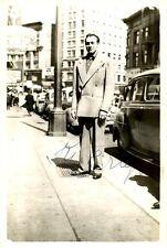 Vintage RUDI KRUGER Signed Photo