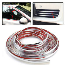 3M/12mm Car Styling Chrome Strips Decoration Body Moulding Trim Cover Universal
