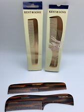 Kent Handmade Combs The Caroline  The Florence Sawcut Set Of 2 (1-84)