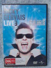 RICKY GERVAIS LIVE--FAME DVD MA R4