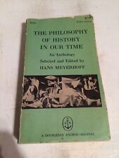 Antique vintage book-The Philosphy of History in our time-1959