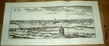 Hannover alte Ansicht Merian Druck Stich 1650 (schw)