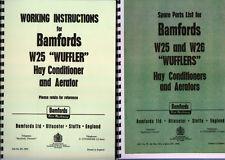 Bamford Wuffler Working Instruction and Parts Manual Book