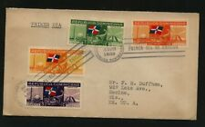 Dominican Republic  first day cover  1939     JL0929