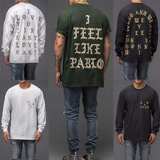 I Feel Like Pablo T-Shirt Mens Fashion Tops Blouse Shirts - The Life of Pablo