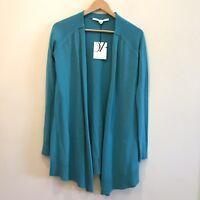 Diane Von Furstenberg DVF Women's Open Front Cardigan Sweater P NWT