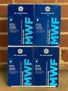 4 Pack MWF Genuine GE Refrigerator Water Filter