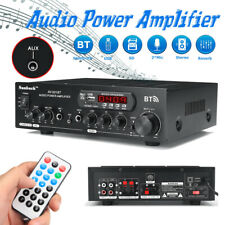 ❤ Sunbuck 2000W Pro bluetooth HiFi Power Amplifier Stereo Surround Karaoke FM AU