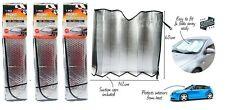 3 x Car Window Sun Shade Heat Reflective Windshield Visor Front Window UV Block