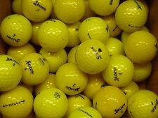 40 Grade B yellow Srixon AD333 AD 333 golf balls superb value