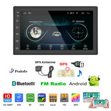 2DIN 7'' AUTORADIO QUAD CORE ANDROID 9.1 BLUETOOTH FM STEREO GPS NAVIGATORE