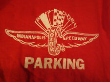 Indianapolis Motor Speedway Parking Red Polo Shirt Size Small