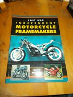 POST WAR INDEPENDENT MOTORCYCLE FRAMEMAKERS BY KEITH NOAKES SOFTBACK 1995