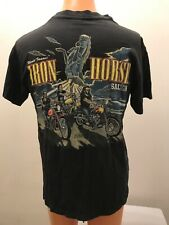 Vintage 1996 World Famous Iron Horse Saloon Black Single Stitch T-Shirt Large