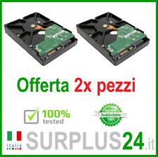 """2x Hard Disk 1 TB SATA 3.5"""" interno HDD per computer USATO GARANTITO"""