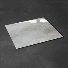 CUT SAMPLE £18.59m2 Grey High Gloss Marble Look Porcelain Tile 60X60 Wall Floor