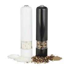Elektrische Pfeffer- und Salzmühle im 2er SET - Pfeffermühle Chilimühle Batterie