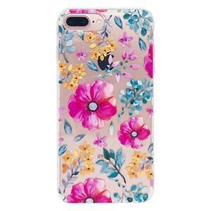 iPhone case 7 8 Plus TPU Cute Design Pink Blossom