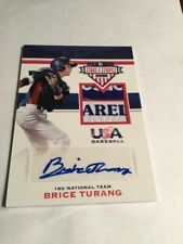 2017 Panini Stars And Stripes Brice Turang Auto Tag/patch /8 Rc