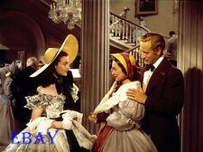 Leslie Howard Vivien Leigh Olivia De havilland Rare  4  X  5  TRANSPARENCY
