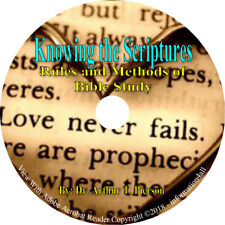 Knowing the Scriptures Rules and Methods of Bible Study Christian Book on CD