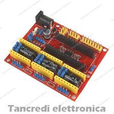 CNC Shield V4 Engraving Machine Stepper Motor Driver Arduino Nano GRBL ramps 1.4