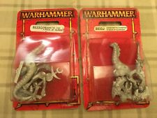 2 NEW WARHAMMER FANTASY DAEMONETTE STEEDS OF SLAANESH BLISTERS