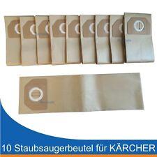10 Staubsaugerbeutel zu Kärcher A2701, A2801, A 2701 2801 wie original 6.904-263
