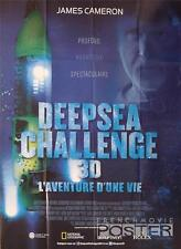 DEEPSEA CHALLENGE 3D - CAMERON / SUBMERSIBLE -ORIGINAL LARGE FRENCH MOVIE POSTER