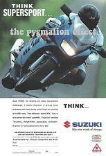 Suzuki RF600R Supersport - Original 1994 Vintage Single-Page Magazine Advert