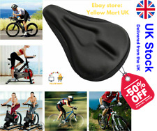 NEW BIKE BICYCLE EXTRA COMFORT GEL PAD CUSHION COVER FOR SADDLE SEAT COMFY